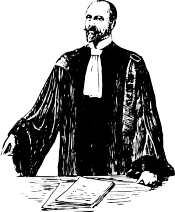 Bilde av advokatgammel